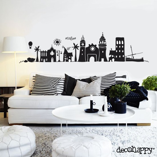 Vinilo decorativo sitges decohappy venta online for Vinilo decorativo madera