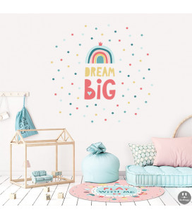 Vinilo infantil big dream